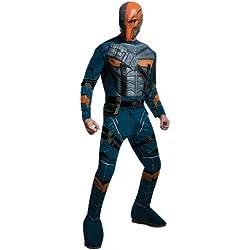 Disfraz de Deathstroke Batman Arkham Franchise musculoso para hombre - M