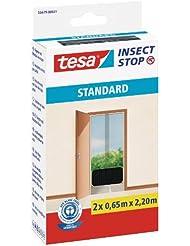 Tesa Insect Stop Moustiquaire Standard pour portes Noir