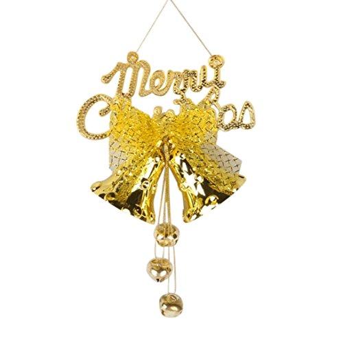 ke String Hängen Weihnachtsfeier Baum Dekoration Ornament 18,5x30 CM (Gold) (Gold Wrapper, Candy)
