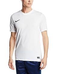 Nike Park VI, T-Shirt Uomo, Bianco (White/Black), M