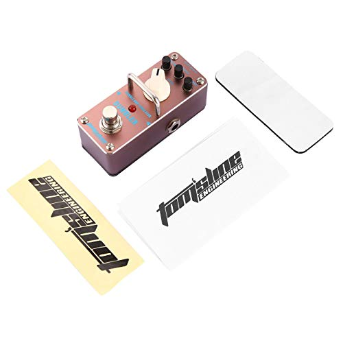 Ballylelly Aroma ADR-3 Dumbler Amp Simulator Mini Pedal de Efecto de Guitarra eléctrica con True Bypass Partes y Accesorios de Guitarra
