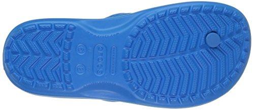 Crocs Crocband Flip, Infradito Unisex-Adulto Blu (Ocean/Electric Blue)