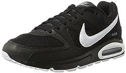Nike Herren Air Max Command Sneaker, Schwarz (Black/White/cool Grey), 42.5 EU