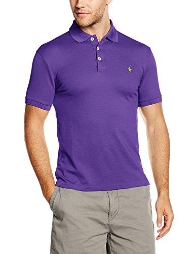 Polo Ralph Lauren Herren Poloshirt Violett (EXOTIC PURPLE B5EXO)