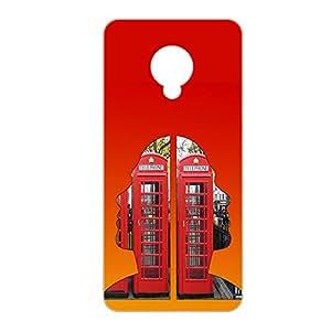 Vibhar Premium Printed Matte Designer Back Case Cover for Micromax Nitro 4G E455 - Face House