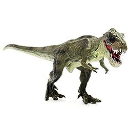 FUNTOK Tiranosaurio Rex, T-Rex Dinosaurio Figura Súper Realista Juguetes de plástico resistente al caucho Modelo de juguete Figura y regalo para niños