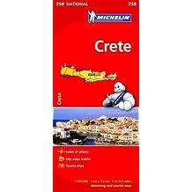 Crete - Michelin National Map 759 (Michelin National Maps)