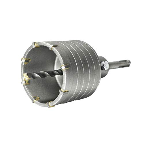 S&R Sierra Corona Perforadora Hormigon en seco Ø 68mm + Adaptador SDS Plus 110 mm + Broca 8 x 110 mm