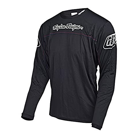 Troy Lee Designs - Troy Lee Designs Maillot Sprint Black Youth - Unicolor - L - Unicolor