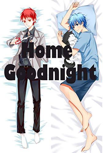 Home Goodnight Kuroko no Basuke Male Peach Skin 160 x 50cm(62.9in x 19.6in) Kissenbezüge (Kuroko Kissen)