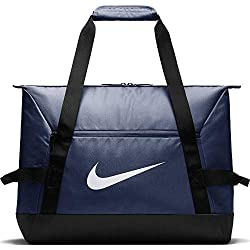 Nike Nk Acdmy Team S Duff Gym Duffel Bag, Unisex Adulto, Midnight Navy/Black/(White), MISC