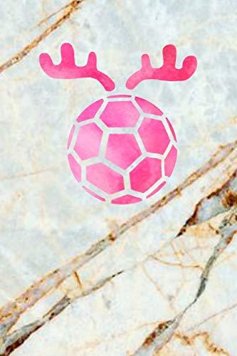 HANDBALL: A5 Dodgrid I Agenda Journal I A5 gebunden I 120 Seiten I Softcover I matt I Handballtrainer Geschenkidee