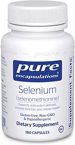 Selenium (Selen) (Methionin) 200mcg 180 veg. Kapseln PEU