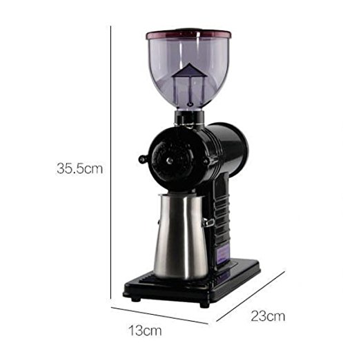 Coffee Maker Coffee Maker Coffee Grinder Coffee Container Coffee Molecule Gnash Knife Grinder,Black