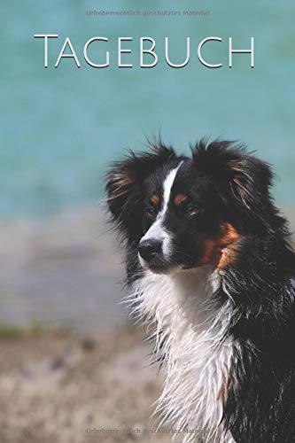 Tagebuch: Australian Shepherd Hunderasse Mini Aussie Hütehund Welpe
