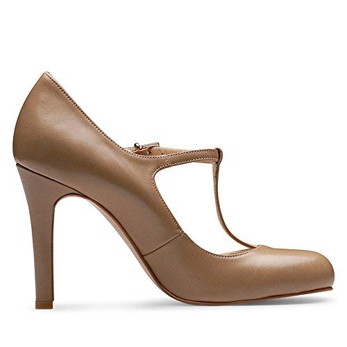 Evita Shoes, Scarpe col tacco donna Viola (Marrone)