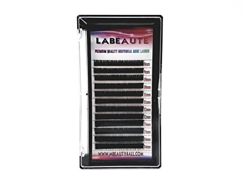 Labeaute russo xd volume lashes individual eyelash extensions 0.07/b-curl (mix (8 – 14 mm))