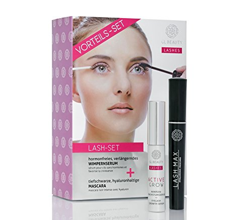 Geschenkset Wimpernserum ACTIVE GROW & Mascara LASH MAX