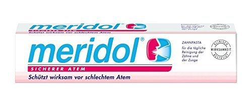 Meridol Sicherer Atem Zahnpasta, 6er Pack (6 x 75 ml)