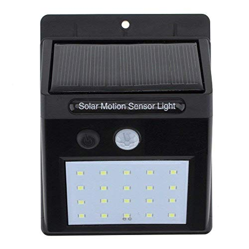 Bk Enterprise20 LED Bright Outdoor Security Lights with Motion Sensor Wireless Waterproof Night Lighting Solar Powered Spotlight for Garden
