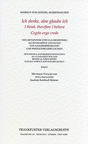 Mandelbrot-menge (Ich denke, also glaube ich. I think, therefore I believe. Cogito ergo credo: Von Metaphysik und Glaubenswissen als Fundament und Gunst von ... (Silhouetten aus dem Grossen Hirschgraben))