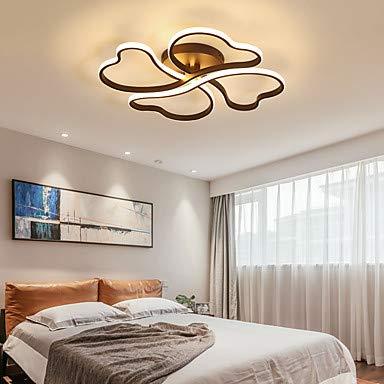WJFXG Lineare Einbauleuchten Ambient Light Painted Finishes Metall LED, 110-240V Dimmbar mit Fernbedienung für Schlafzimmer Wohnzimmer, 58cm - Moderner Ambient-beleuchtung