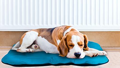 Best direct dog bed as seen on tv letto cuscini per cani taglia media e grande imbottito morbido e impermeabile per casa e esterno - facile da lavare in lavatrice (taglia media)