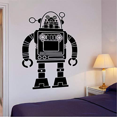 Wandaufkleber Roboter Transformator Pop Art Kind Für Wohnzimmer Wandaufkleber Für Kinderzimmer Wohnkultur Kinderzimmer Wandtattoos 56 * 88 cm