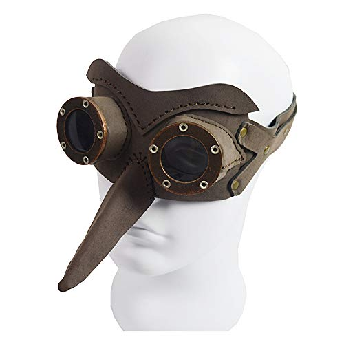 LJJY Halloween Maske streich Lange Nase Maske Retro vogelperspektive Maske Cosplay Maske Halloween kostüm Party Party Dress up Maske männer weibliche Kinder (Single Mann Kostüm)