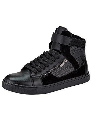 oodji-ultra-homme-chaussures-montantes-avec-pattes-velcro-et-finition-dcorative-noir-42-eu-8-uk