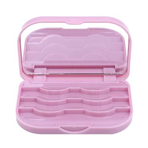 Pinhan Cute False Eyelash Aufbewahrungsbox Make-up Kosmetikspiegel-Fall-Organisator Beauty Comestics Tool, Primer ()