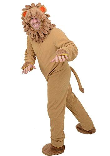 Imagen de disfraz león para adulto talla única alternativa