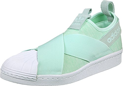 adidas Damen Superstar Lapsus s76407 Trainer Einheitsgröße Mint Green/White