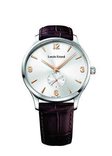 Louis Erard 1931 Collection Mechanical hand winding Silver Dial Men's Watch 47217AA11.BEP01