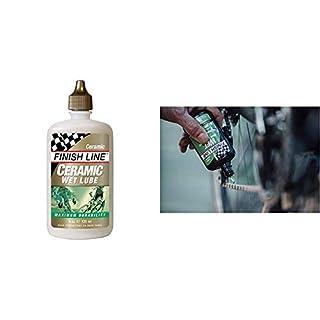Finish Line Schmiermittel Keramik Kettenöl 120 ml, 4002055 & Line Cross Country Kettenöl 120 ml Schmiermittel, Mehrfarbig,
