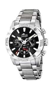 Lotus - 15643/3 - Montre Homme - Quartz - Chronographe - Chronomètre - Bracelet Acier inoxydable Argent