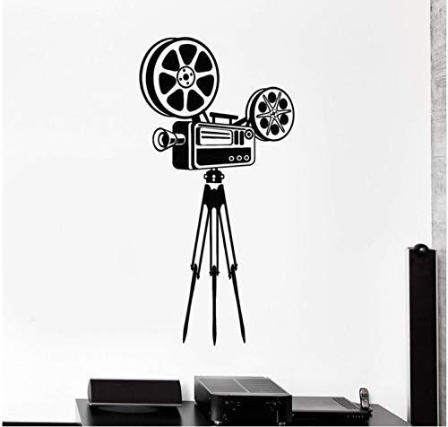 Vinyl-Wandtattoo-Kamera filmt Kunstaufkleber Wandbilder können Hauptdekoration 42x84cm sein
