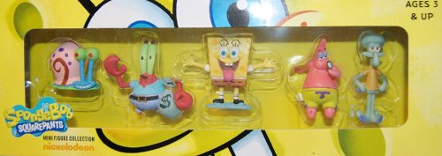Image of Spongebob Squarepants - Mini Figure Collection Series 1 - 5 Pack