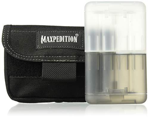 Maxpedition Batterietasche Volta Battery Pouch, schwarz, 1809