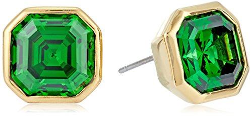 nicole-miller-10-mm-signature-asscher-bezel-gold-emerald-stud-earrings