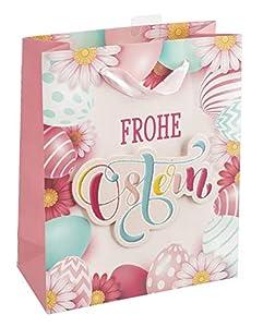 Idena 30201 - Bolsa de Regalo, diseño de Pascua, Color Rosa