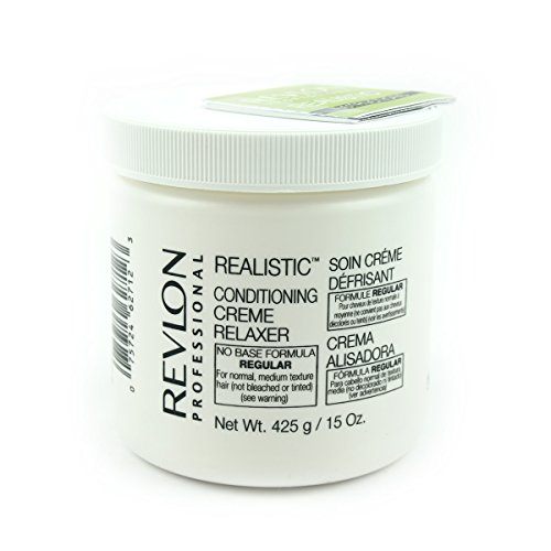 REVLON REALISTIC CONDITIONING CREME RELAXER regular 425g (Relaxer Kit Conditioning)