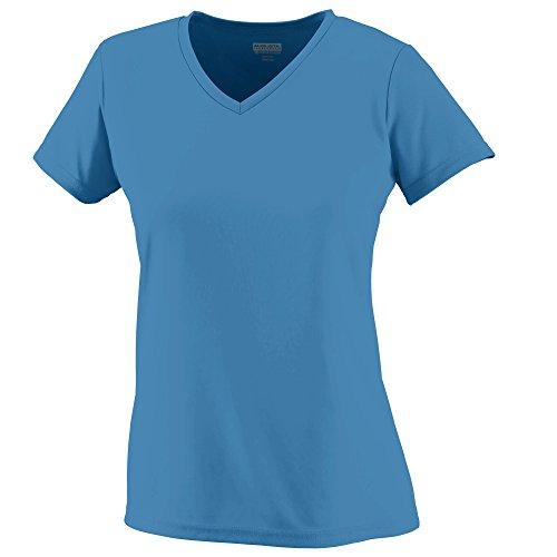 Augusta femmes de l'humidité col en V pour homme Columbia Blue