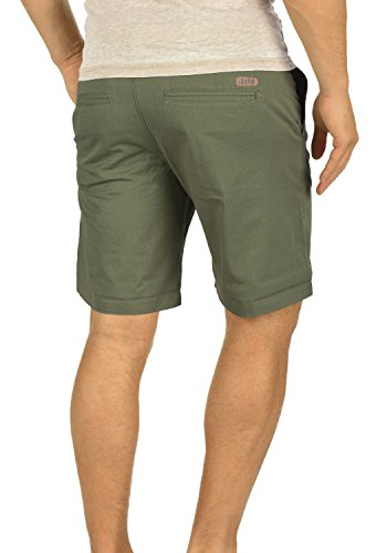 SOLID Thement Herren Chino-Shorts kurze Hose Business-Shorts aus 100% Baumwolle Dusty Oliv (3784)