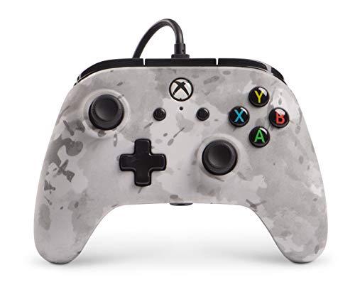 Manette filaire pour Xbox One - Camo d'hiver