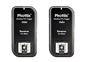 Phottix Odin TTL Flash Trigger For Nikon, Two Receiver
