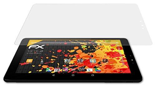 atFolix Panzerfolie kompatibel mit Allview Viva H1002 LTE Schutzfolie, entspiegelnde & stoßdämpfende FX Folie (2X)