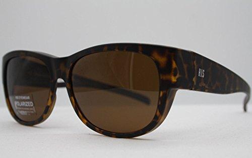 HIS HP 79102-2 Sonnenbrille Überziehbrillen mit Polaroidgläser
