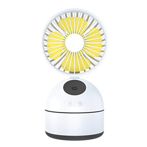 NIUQY Mode Sommer Wesentliches Neuer Desktop-Mini-Schönheitsspray-Ventilator Mobile Power-USB-Befeuchtungs-Wassergott-Fan Luxus Intelligentes Gerät Healthy Living Little Helper