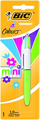 BIC 4 Colores Mini Fashion - Bolígrafo